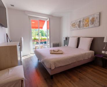 chambre simple lit